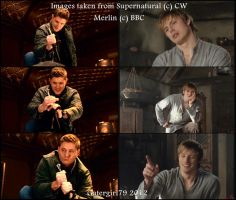 SPN Meets Merlin - Excalibur Challenge by Gatergirl79
