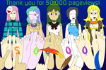 50,000 Pageviews Celebration by Bsalg93