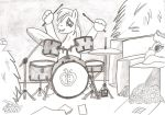 Big Macintosh Will Be Drummer by Witkacy1994