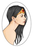 Wondy Portrait by Orr-Malus