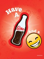 Coke and a Smile by Seany-Mac