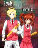 Pewds and Pewdelia by Saviroosje