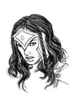Wonderwoman Comic-Con 2013 - Study by ManoelRicardo