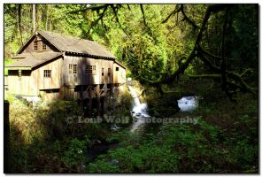 Grist Mill  2 by LoneWolfPhotography