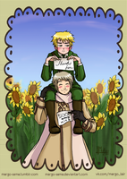 [APH] Thanks for 5000 hits! by Margo-sama