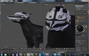 Scout dog wip 2 by betasector