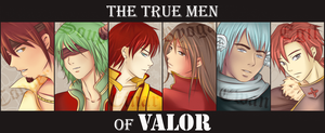 Valor vs. The Bad Guys - The Men of Valor by Huuxera