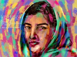Malala Yousafzai Version1 by WashedfirE