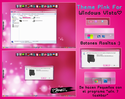Theme Pink For windows Vista tema rosa para vista by alenet21tutos