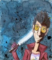 AT - Travis Touchdown by Akatears