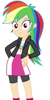 Rainbow Dash Equestria Girls jacket by sebisscout1997