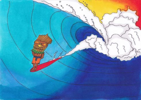 Tiki-Surf by sharkinc