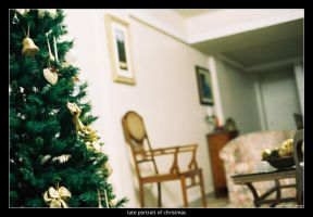 late portrait of christmas by Menge