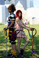 Kingdom Hearts Cosplay by viewtifu1