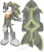 Justin in Sonic Riders by OrionTHedgehog