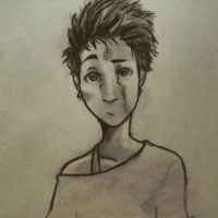 Graphite Face and Crazy Hair by Guchi-Girl1