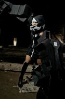 Strength - black rock shooter by psycomeh