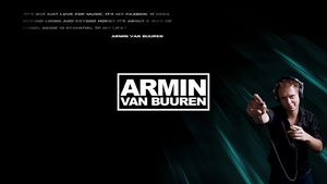 Armin van Buuren Wallpaper by Nieds