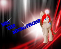 Mic The Microphone - wallpaper by MoonCloudTheBrony
