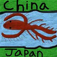 Between China and Japan by BlindBirdWatcher