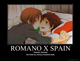 SPAIN X ROMANO by kagomeandharuhi