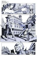 Injustice Flash Wonder Woman Batman pencils02 by Raffaele-Ienco