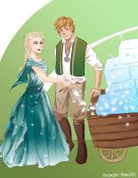 Elsa and the Ice Master by november-branches