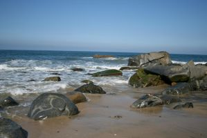 rocky coast 04. by greenleaf-stock