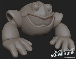 Toad Man - 60-Minute Practice Sculpt by GaryStorkamp