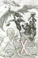 All New X-Men :lineart: by emmshin