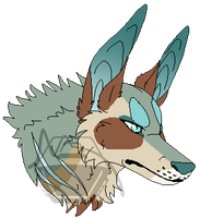 Pixel Headshot for Archy [COMM] by TVCranium