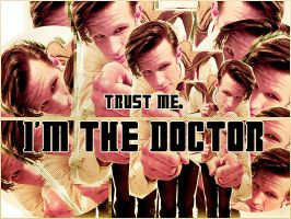 Blend the eleventh Doctor by HappinessIsMusic