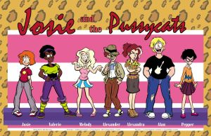 Pussycats Cast Lineup by CrackpotComics