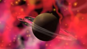 Stars and Saturn 4 you by Topas2012