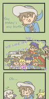 Happy Birthday RickOH  IKE IS IN SSB4 by SparxPunx