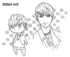 SHINee Key by KeybladerEva