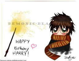 Happy Birthday Harry by demonic-black-cat