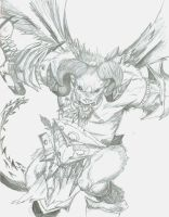 demon Orcus by CatrinaTheDemon