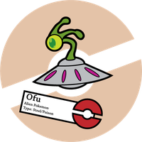 Fake Pokemon: Ofu by Sageroot