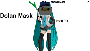 MMD Dolan Mask Pack!!! by FB-C