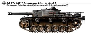 StuG III Ausf F by nicksikh