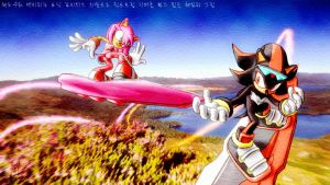 Shadow and Amy 3 by SidusPrime