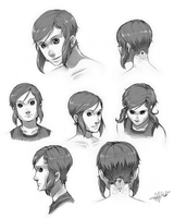 Reina Cloude- Head Study by Tekka-Croe