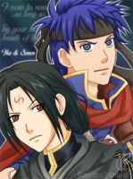 Ike and Soren by ShaoranKun