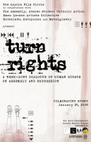Turn Rights Poster by yellowblur
