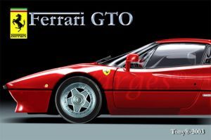Ferrari GTO by Varges