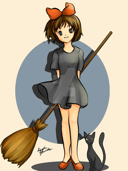 Kiki's Delivery Service by nicsumida