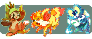 Starters by chirpeax