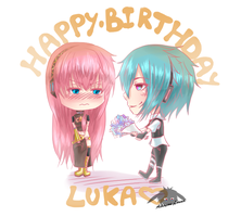 Happy Birthday Lukaaaa!! by Louna-Ashasou