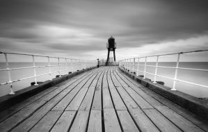 Whitby West Pier by RyanMichael